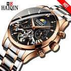 HAIQIN luxury Automatic Mechanical Men Watch classic Bussiness Watch men
