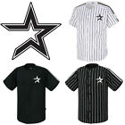 Houston Astros Striped Button Jersey Baseball Open T-Shirts Uniform 0103 on Ebay