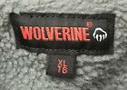 Wolverine Sherpa Lined Flannel Shirt Jacket Red Plaid Mens Size M L XL