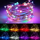 LED String Copper Wire Fairy Lights USB Xmas Party Strip Fairy Decor Lamp US