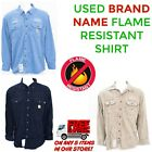 Flame Resistant Work Shirt Used Cintas, RedKap, Unifirst, G&K Brand