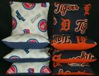 Set Of 8 Detroit Tigers Pistons Basketball Cornhole Bean Bags FREE SHIPPING on eBay