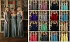 Chiffon Multi Wear Gown Long Maxi Wedding Colour Sample This Is Not A Dress Uk