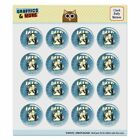 Beer Brew Unto Others As Would Yourself Puffy Bubble Scrapbooking Sticker Set