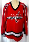 WASHINGTON CAPITALS Jersey Size Large or XL Stitched Embroidered Logos NHL New $59.95 USD on eBay
