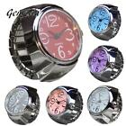 Genvivia Quartz Watch Dial Analog Watch Creative Stainless Steel Cool Elastic Fi image