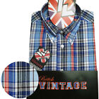 Warrior UK England Button Down Shirt SHELLEY Slim-Fit Skinhead Mod Retro