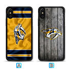 Nashville Predators Sport Case For Apple iPhone X Xs Max Xr 8 7 6 6s Plus $4.49 USD on eBay