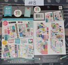 """NEW ~ me & my BIG ideas """"The Happy Planner Sticker Book"""" Lot's to pick from!!!"""