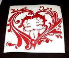 betty boop kiss -heart cuty sticker vinyl decal for car and others FINISH GLOSSY $3.79 USD on eBay