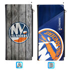 New York Islanders Leather Wallet Clutch Purse Women Bifold Handbag $13.99 USD on eBay