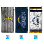 San Diego Chargers Leather Wallet Clutch Purse Women Thin Bifold $13.99 USD on eBay