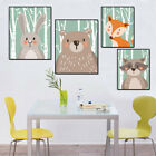 Lovely Wall Painting Cartoon Animal Print Painting Poster Unframed Best Seller