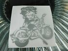 betty boop bike  sticker vinyl decal for car and others FINISH GLOSSY $4.58 CAD on eBay