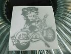 betty boop bike  sticker vinyl decal for car and others FINISH GLOSSY $3.44 USD on eBay