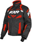 FXR MENS OCTANE Warm Winter Black / Red Jacket Parka -  MEDIUM  - NEW
