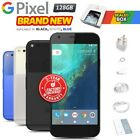 New & Sealed Factory Unlocked Google Pixel Black Blue White 128gb Android Phone