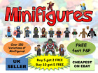 Super Hero Minifigure Marvel + FREE LEGO BASE TOY - UK Superheroes Mini figures £2.70 GBP on eBay