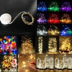 Waterproof LED Copper Wire Light String Battery Operated Energy Save Party SS815