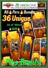 DIABLO 3 ROS - XBOX ONE - HUGE ULTIMATE COSMETIC PETS BUNDLE 34 + BONUS! LOOK!