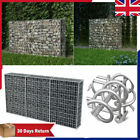 Patio Gabion Stone Basket Retaining Wall Garden wire cage fench galvanized steel