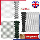 Garden PVC Chain Link Fence Fencing Roll Galvanized Steel Straining Wire 5FT/8FT