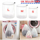 Washing Machine Mesh Net Bags Laundry Bag Large Thickened Wash Bags Reusable UK