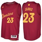 Lebron James 23 Cleveland Cavaliers Mens Burgundy 2016 Christmas Day Jersey