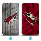 Arizona Coyotes Leather Case For Samsung Galaxy S10 Plus Lite S10e S9 S8 $8.49 USD on eBay