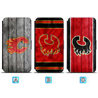 Calgary Flames Leather Case For Samsung Galaxy S10 Plus Lite S10e S9 S8 $7.99 USD on eBay