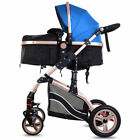 NEW 3 in 1 Baby Buggy Pram Travel System Stroller Pushchair with Carrycot