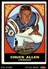1967 Topps #129 Chuck Allen Chargers Washington 4 - VG/EX $2.3 USD on eBay
