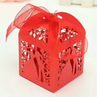 10/50/100x Lot Married Wedding Favor Favour Box Gift Candy Paper Party Box Small