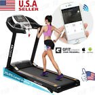ANCHEER Motorized Electric Treadmill Running Machine Heavy Duty Folding Gym Home
