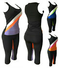 Women's Apparel Sports Gym Yoga Workout Activewear 2 Pieces Top+Leggings Set , used for sale  Shipping to Nigeria