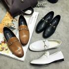 British Mens Casual Slip On Loafers Horsebit Low Top Shoes Mules Buckle Driving