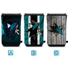 San Jose Sharks Leather Phone Case Pouch Strap For iPhone Samsung $10.49 USD on eBay