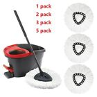 Kyпить 4Pc Replacement Microfiber Mop Head Easy Clean Wring Refill For O-Cedar Spin Mop на еВаy.соm