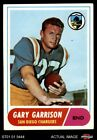 1968 Topps #36 Gary Garrison Chargers EX $1.25 USD on eBay