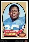 1970 Topps #206 Russ Washington Chargers EX $1.25 USD on eBay