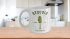 Sequoia National Park Coffee Mug California Trees