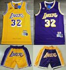 Magic Johnson #32 Los Angeles Lakers 90's Throwback Vintage Jersey / Shorts on eBay