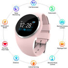 Women Girl Ladies Bluetooth Smart Watch Phone Mate Heart Rate For Android iPhone