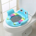 Child Cartoon Potty Toilet Trainer Seat Stool Ladder Adjustable Training Chair