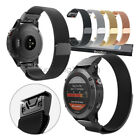 Stainless Steel Milanese Loop Bracelet Watch Band Strap For Garmin Fenix 5 5X 5S image