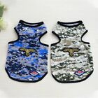 Pet Dog Cat Summer Clothes Puppy Camouflage Vest T Shirts Outfits Casual Costume