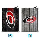 Carolina Hurricanes Leather Credit Card Case Holder RFID Blocking Wallet $11.99 USD on eBay