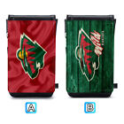 Minnesota Wild Leather Phone Case Sleeve Pouch Neck Strap Bag $10.99 USD on eBay