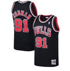 Mitchell & Ness Chicago Bulls #91 Basketball Jersey New Mens Sizes MSRP $130 on eBay