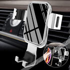 Aluminum Universal Car Air Vent Gravity Auto Lock Phone Holder Mount Stand 2019